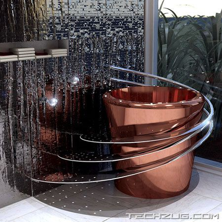 Modern And Stylish Bathtub Designs
