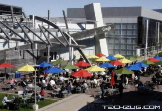 Google Headquarters in Mountain View, California