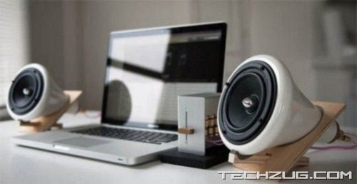 Most Unusual Slick Speakers
